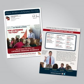 Town Hall Meeting Notice  Speaker Paul D. Ryan